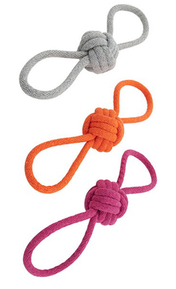 Nayeco Cotton Rope with Double Handle and Ball - Cores Sortidas 1 Unidade