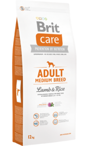 Brit Care Dog Adult Medium Breed | Lamb & Rice 12 kg
